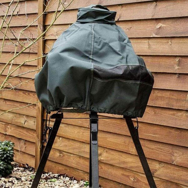 Big Green Egg Cover for MiniMax - We recommend using this cover to protect your MiniMax from UV rays and inclement weather conditions.