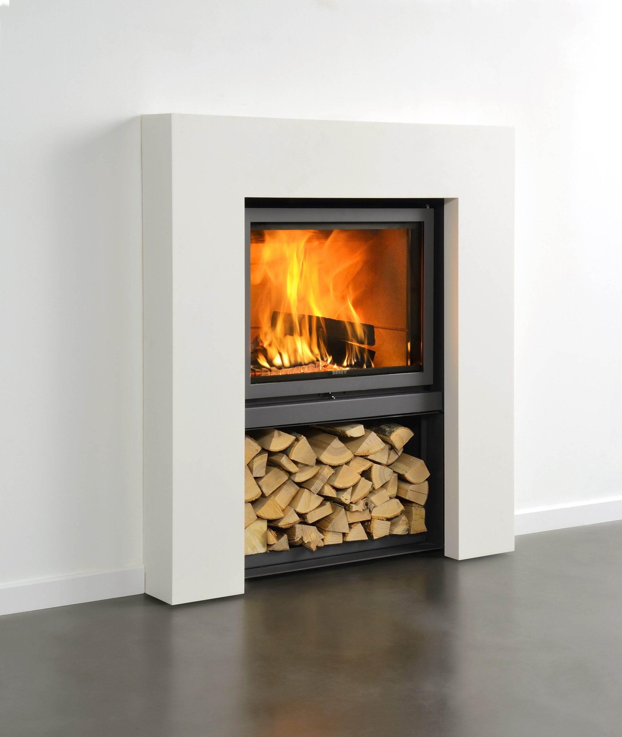 Stuv 16/58-Fireplace
