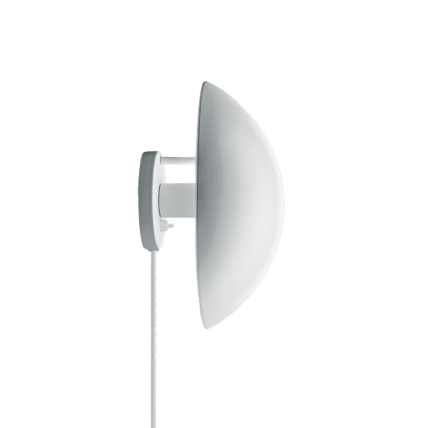 PH Hat - The fixture emits indirect 100% glare-free light. The light distribution depends on the angle of the shade. The shade is rose coloured on the inside, giving the light a warm tone.