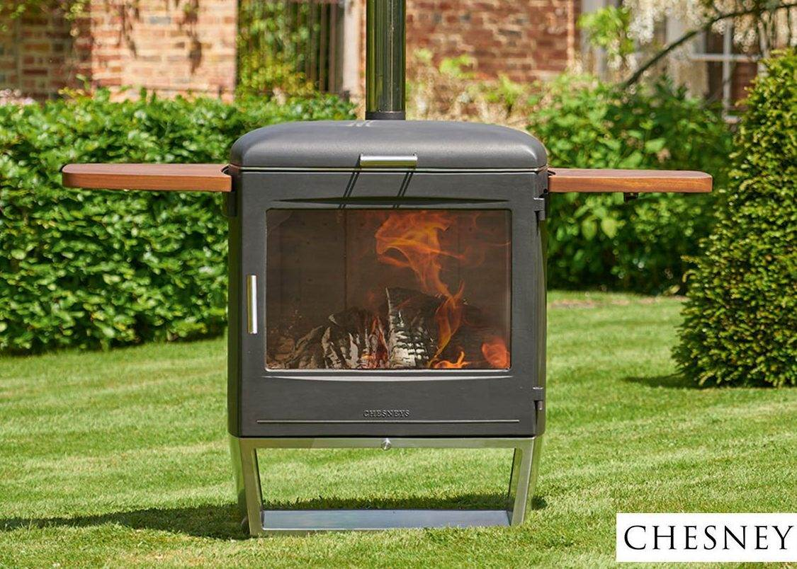 Chesney's Garden Party Outdoor Stove & BBQ