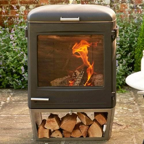 Chesneys HEAT - Garden Gourmet with free cover - Sleek in design, highly durable and powerful in heat, the Garden Gourmet offers luxurious outdoor cooking on a bigger scale, for those natural born entertainers.