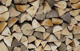 "Seasoned Firewood 14"" - Topstak process and season our firewood in a purpose-made building to ensure a high quality air-dried firewood which is a good mix of hardwoods such as Ash, Beech and Birch locally sourced.  Also available as loose tipper load and delivered throughout South Wales."