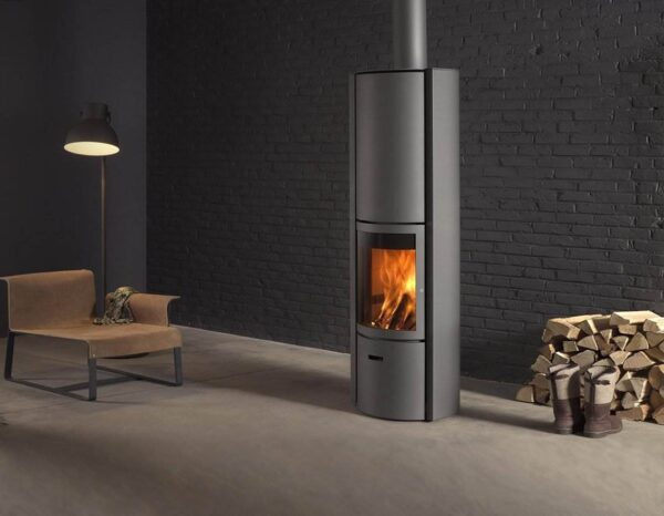 Stuv 30-H - The Stûv 30-H can be fitted with an accumulator core which stores some of the heat. Once the fire has gone out, the accumulated heat is released over several hours, thus prolonging the sensation of heat and comfort.