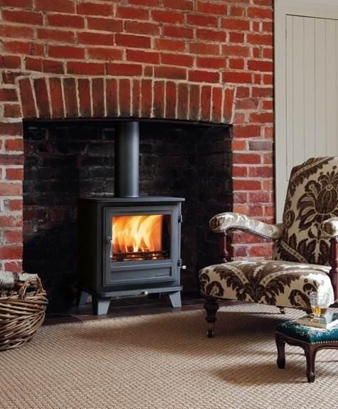 Chesney's Salisbury 8 (6kw) Woodburning Stove -