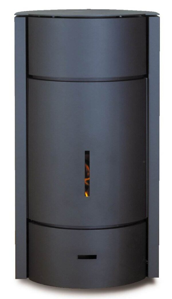Stuv 30 High - The Stuv 30 is the very first wood-burning stove to offer three modes of use. Although now in its third generation, it is still revolutionary with its 3-in-1 system: open fire, glass door, or solid door. To change the mode of use you just need to pivot the drum of your Stuv 30 to the desired position.