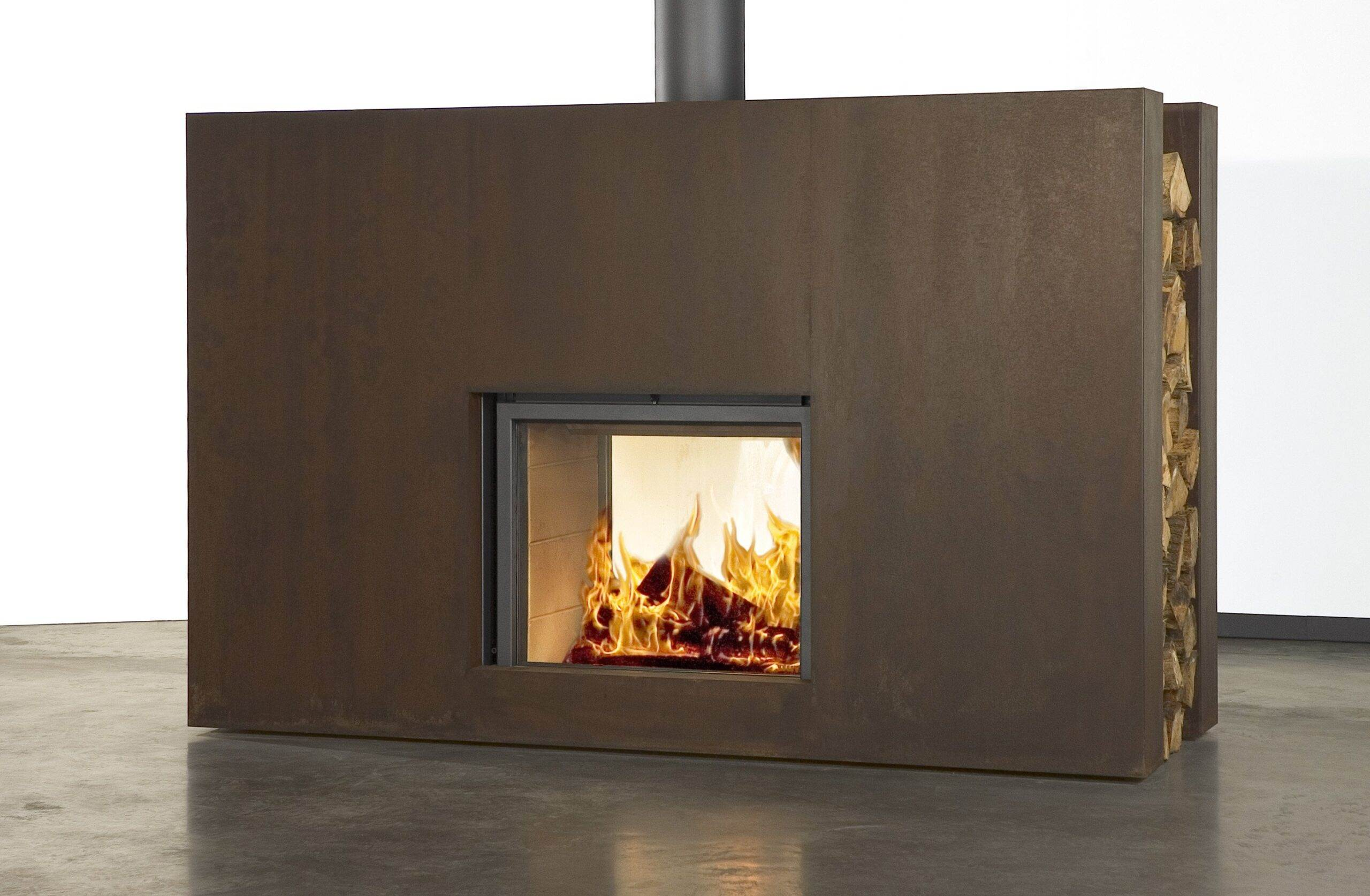 Stuv 21/85 Double Sided Inset Stove