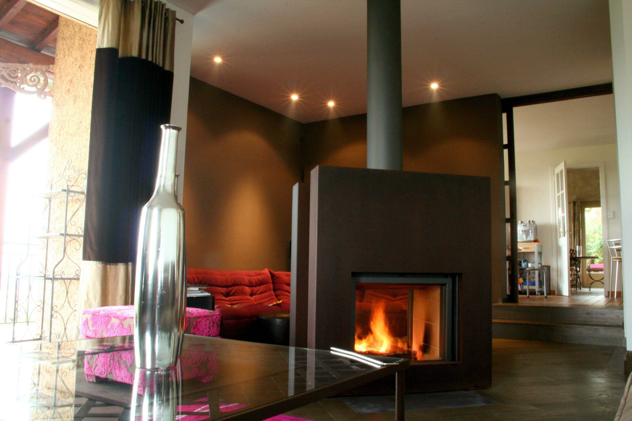 Stuv 21/75 Double Sided Inset Stove