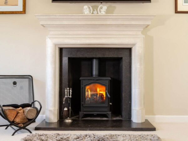 Esse 500 SE - A slightly smaller version of our massively popular 100 Stove, this handsome log-burner features ESSE's instantly recognisable signature door arch styling – combining traditional looks with advanced technology and performance.  With its reassuringly solid cast iron construction, the 500 Vista is every inch an ESSE; a warm heart and focal point for your home, embodying everything we've learned in over 160 years as stove-makers. To make it as easy to use as it is on the eye, the 500 Vista features primary and secondary air control sliders, as well as a twin position riddling grate with both wood and mineral fuel settings.