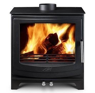 Aga Ellesmere EC5 W - The latest editions to the AGA Stoves family are dynamic, exciting newcomers. Blending contemporary and traditionaldesign, the new range of Ellesmere stoves offer clean lines and solid performance.