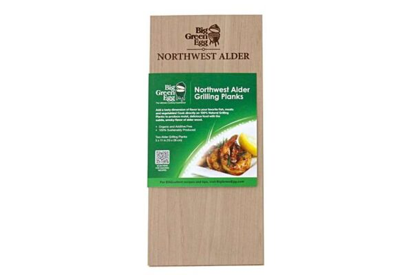 Northwest Alder Grilling Planks - Let your food absorb the fragrant wood smoke and enjoy a unique grilling tradition by cooking food indirectly on a wood plank.