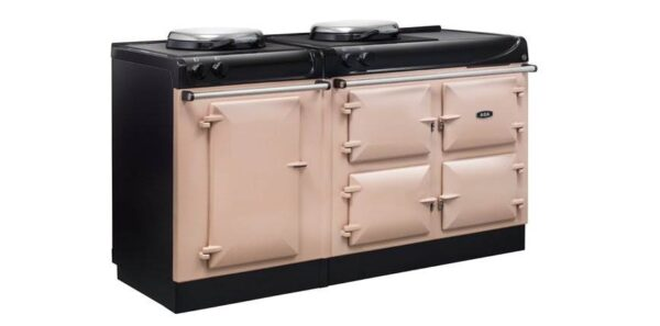 """AGA eR3 160 Electric - Designed in Britain with cast-iron ovens for radiant heat cooking, the AGA 3 Series 160cm offers everything you expect from AGA with the added convenience of a superb conventional fan oven. Click <a href=""""/events/"""">here</a> for a list of upcoming cooking demonstrations"""