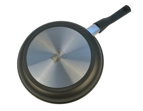 """AGA Induction Cast Aluminium Sauté Pan - <span style=""""float: none; background-color: #ffffff; color: #3a3a3a; cursor: text; font-family: Georgia,'Times New Roman','Bitstream Charter',Times,serif; font-size: 100%; font-style: inherit; font-variant: normal; font-weight: inherit; letter-spacing: normal; text-align: left; text-decoration: none; text-indent: 0px; text-transform: none;"""">The 6.5mm bases provide optimum heat absorption and distribution, delivering outstanding energy efficiency.</span> <span style=""""float: none; background-color: #ffffff; color: #3a3a3a; cursor: text; font-family: Georgia,'Times New Roman','Bitstream Charter',Times,serif; font-size: 100%; font-style: inherit; font-variant: normal; font-weight: inherit; letter-spacing: normal; text-align: left; text-decoration: none; text-indent: 0px; text-transform: none;"""">Burnt on food and laborious scrubbing will become a thing of the past. The non-stick coating makes cleaning so easy, just a quick soak in hot, soapy water will to the trick.</span>"""