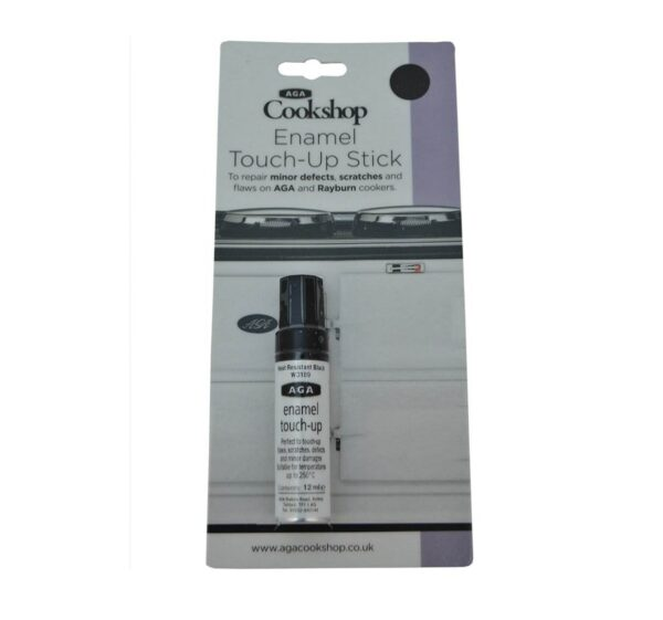 Aga touch up stick - Perfect for repairing minor defects, scratches and flaws on the enamel surface of your AGA, this touch up stick allows easy, instant and inexpensive repair. Separate repair kit available for easy durable repair.