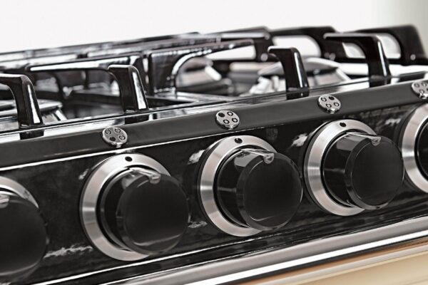 AGA 60 Gas Hob - At 60cm wide, this model is great for small spaces. The ovens cook using radiant heat for great results and you can have that lovely, cosy AGA warmth in the kitchen when you want it. This model features a gas hob.