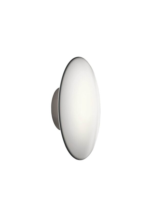 AJ Eklipta - The fixture emits soft comfortable light. The glass is designed to provide a uniformly lit surface. The three-layer mouth-blown opal glass shade has a transparent edge, providing a decorative halo of light around the fixture.