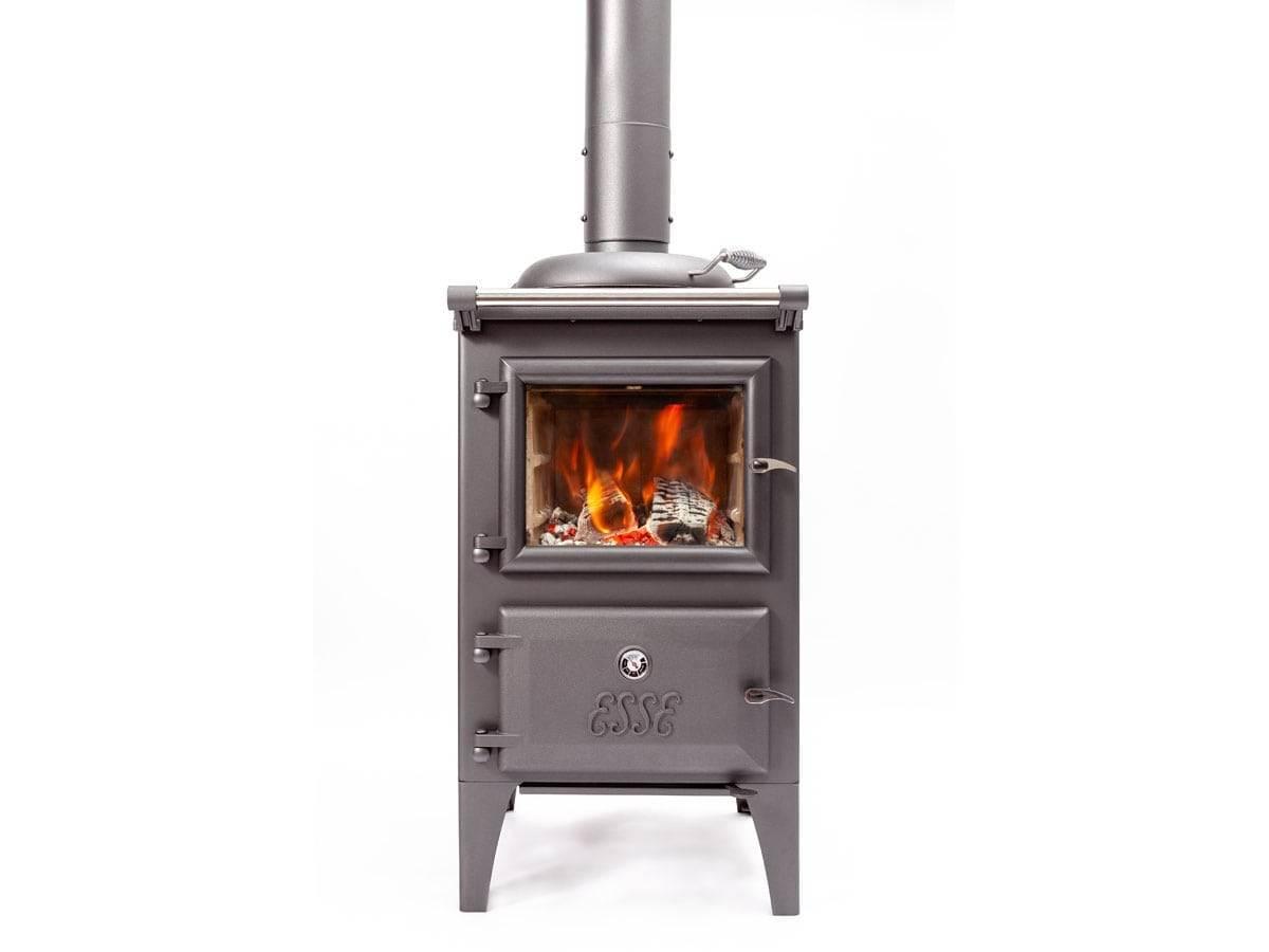 Esse Bakeheart Small Combination Range Cooker Wood Burning Stove   Topstak