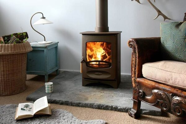 Charnwood C-Four BLU - The Charnwood C-Four BLU Stove is DEFRA Approved allowing wood burning in smoke controlled areas and is also Ecodesign ready and exceeds the 2022 EU directives for reduced particulates and emissions.
