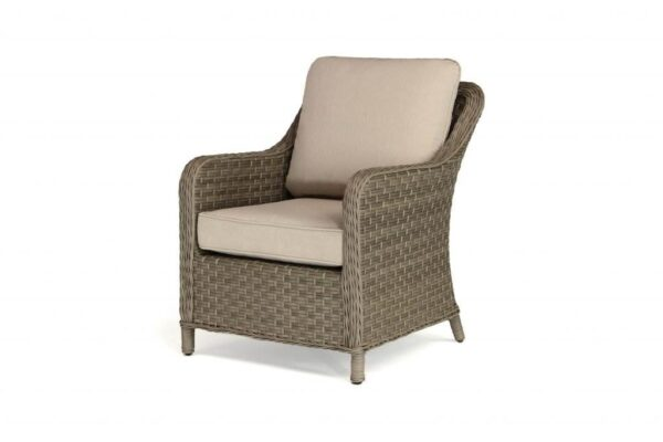 Charlbury Lounge Chair (Pair) - The Charlbury collection is traditional wicker garden furniture with comfortable seating and glass top tables. Choose from a choice of 2 corner sets to make the most out of your space, a more formal dining set or lounge set. Lounge or dine with the versatile casual dining design tables. The Charlbury range is equally suitable for indoor or outdoor use.