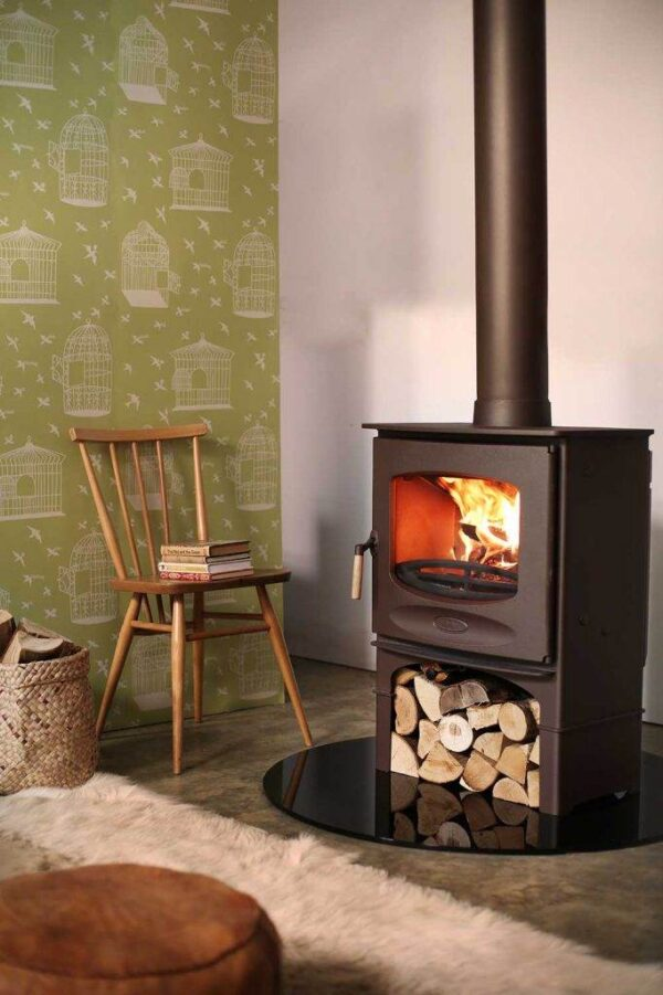 Charnwood C-Seven BLU - The Stove is DEFRA Approved allowing wood burning in smoke controlled areas and is also Ecodesign ready and exceeds the 2022 EU directives for reduced particulates and emissions.