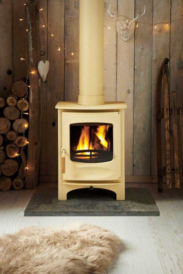 Charnwood C-Six BLU - The Stove is DEFRA Approved allowing wood burning in smoke controlled areas and is also Ecodesign ready and exceeds the 2022 EU directives for reduced particulates and emissions.