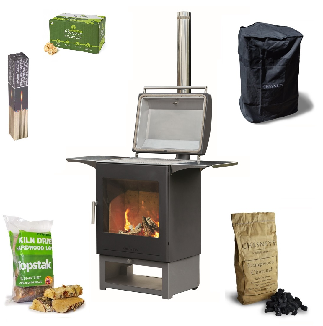 Chesneys Heat and Grill BBQ Bundle
