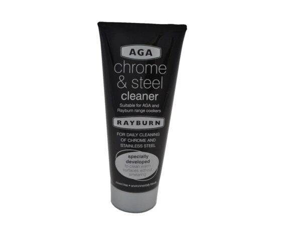 Aga Chrome Cleaner - Suitable for daily use on cookware and AGA and Rayburn cookers, this chrome cleaner has been specially developed to clean warm surfaces without smearing.