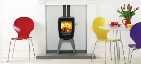 "Dovre Vintage 30 - The Dovre Vintage 30 is a wood burning stove that will always make a big impact. With its compact lines and nostalgic retro style, this vintage inspired cast iron stove has been designed with Dovre's <a href=""https://dovre.co.uk/labels/airwash/"">Airwash</a>technology to keep your stove window clean, so you can enjoy the beautiful rolling flame picture to its full potential."