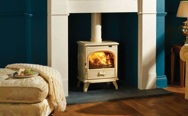 """Dovre 250 - The Dovre 250 traditional multi-fuel and wood burning stove is designed to suit a huge range of applications from a cottage kitchen to a modern town house living room. Made from premium grade cast iron, this traditional multi-fuel stove is DEFRA approved for use in<a href=""""https://dovre.co.uk/labels/smoke-control/"""">smoke control areas</a>."""