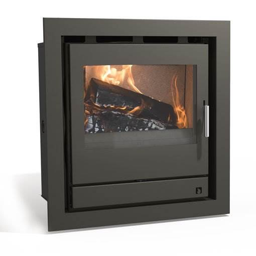 Arada Ecoboiler 12 Cassette - Discreetly styled yet very practical. This cassette style boiler stove has all the heat and hot water output of our ever-popular Ecoboiler 12 boiler stove.