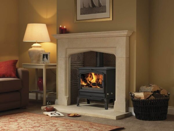 Esse 200 SE - Think of this as the more muscular big brother of our best-selling 100 model; a hand-crafted cast iron wood-burner capable of pumping out 7.5kW, more than enough to keep the larger living-space toasty warm. Clean-burning and energy-efficient, the 200 has all the presence of a classic ESSE stove – with our signature VISA door arch styling, and a large window enabling you to enjoy a landscape view of your fire. Like almost all ESSE wood-burners, this model is compatible with our advanced automatic electric ignition technology; so no need for matches, lighter or kindling.