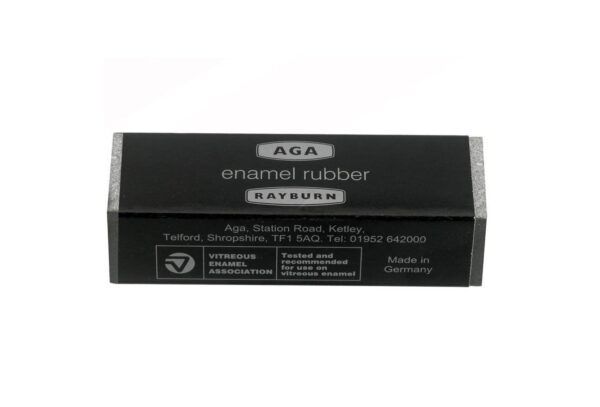 Aga Enamel Rubber - AGA Enamel Rubber removes scuff marks on enamel and ceramic surfaces without scratching. It provides effortless cleaning and is ideal for daily use. It's handy size makes it ideal for quick use.