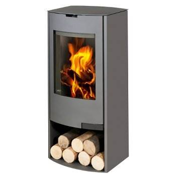 Aga Hadley - The clean lines of the Hadley wood burning stove will appeal to those looking for an honest, unfussy design.