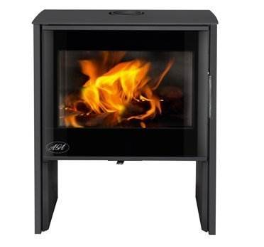 Aga Hanwood - Creating comfort and warmth, the Hanwood is a medium sized stove with a nominal output of 6kW and high efficiency of 80.2%.