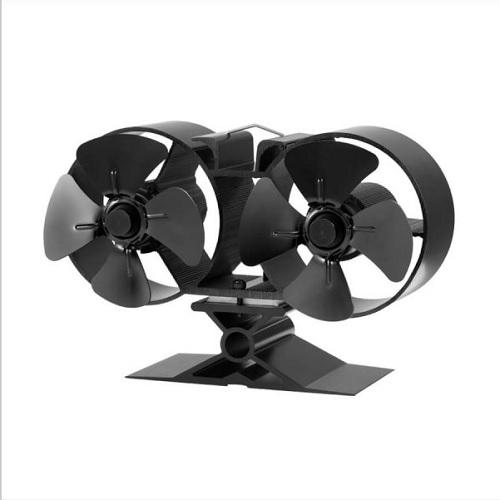 Heat Powered Stove Fan - Double