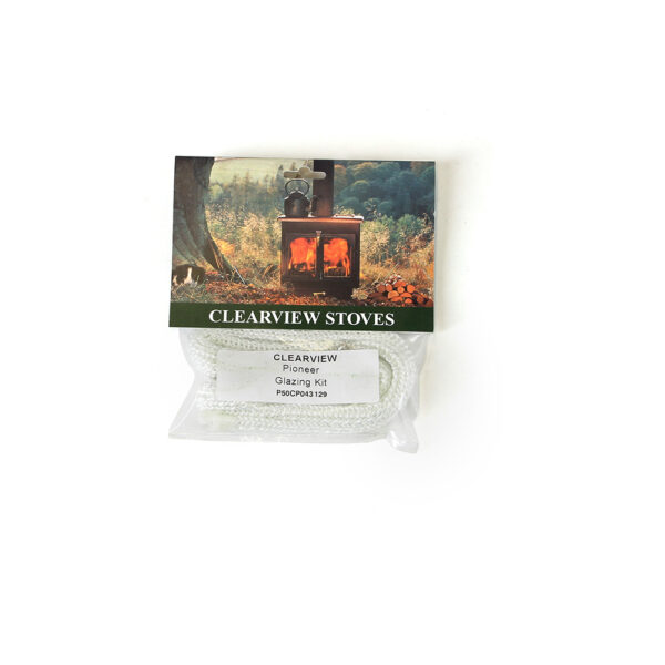 Clearview Glass Rope - Replacement glass rope seal kit including adhesive.