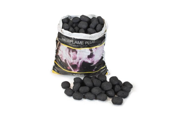 Newflame Smokeless Coal 25kg - Newflame Plus is our bestselling value for money smokeless fuel, designed specifically for use on multifuel stoves, other closed appliances and open fires with no compromise on quality.