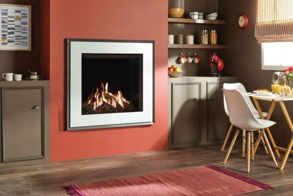 """Gazco Reflex 75T - <p class=""""lead"""">The Gazco Reflex 75T couples advanced technology with ultra-lifelike logs to create a truly stunning gas flame effect that is almost indistinguishable from a real wood burning fire. Offering the ultimate in gas fire realism, the Reflex's versatile styling options ensure it can be tailored to suit your home.</p>"""