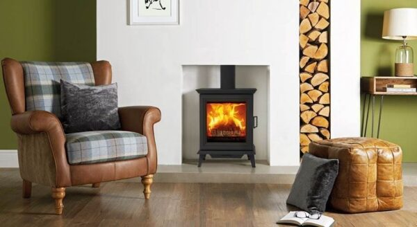 Stovax Sheraton 5 - Adding a brand new family to the Stovax wood burning stove collection, the Sheraton offers timeless aesthetics coupled with exceptional heating capability. These are available in 2 stove sizes.