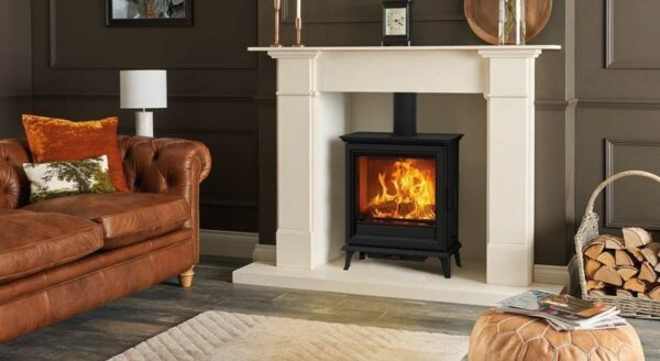 Stovax Sheraton 5 Wide - Adding a brand new family to the Stovax wood burning stove collection, the Sheraton offers timeless aesthetics coupled with exceptional heating capability. These are available in 2 stove sizes.