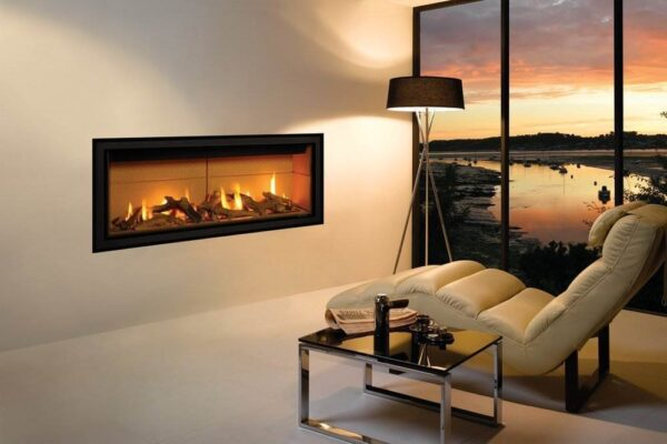 Gazco Studio 2 - The Gazco Studio gas fire is for those who require minimalist modern perfection. This gas fire has an eye-catching no-frame* design which realises that ?hole-in-the-wall? fire look. Available as both Glass Fronted and Open Fronted models, this contemporary fire adds a stylish statement to any living space. Glass Fronted models benefit from a choice of three realistic fuel beds: Log-effect, Pebble & Stones or Driftwood-effect for that beachy aesthetic. Furthermore, Open Fronted models can have the White Stones fuel bed upgraded to red, black or clear Glass Beads which, next to the ribbon of flames, creates quite the spectacular centrepiece.