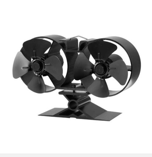 Stove Fan - 8 Blade Twin -