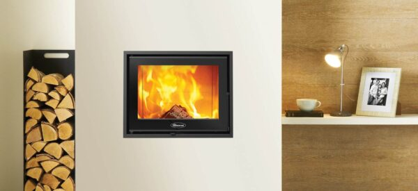 "Dovre Zen 100 - Compact yet powerful, the Dovre Zen 100 wood burning cassette fire pairs cutting-edge technology with an attractive design. This cassette fire allows you to enjoy the rolling flames to maximum effect, as the recessed combustion chamber conceals the fuel bed, allowing a fuller flame visual. The latest <a href=""https://dovre.co.uk/labels/cleanburn/"">Cleanburn</a> and <a href=""https://dovre.co.uk/labels/airwash/"">Airwash</a> technology also provides a clean and clear window."