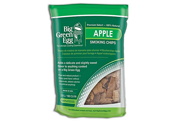 Big Green Egg Apple Smoking Chips