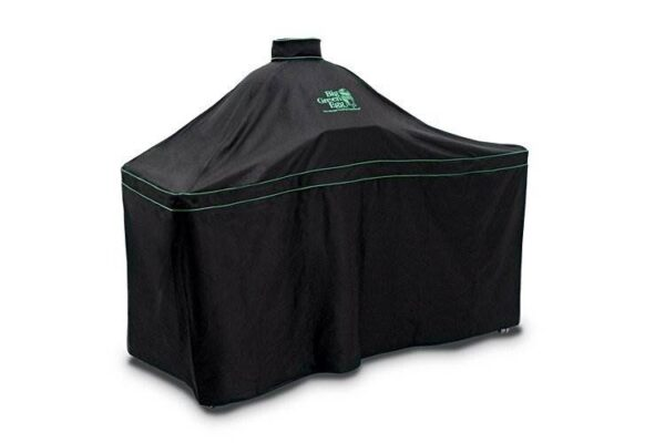 Big Green Egg Cover for X-Large Acacia Table - This Big Green Egg Ventilated Cover is perfect to protect your XLarge EGG in Acacia Table.