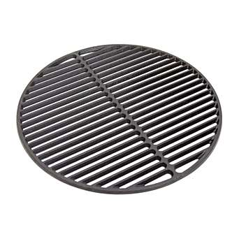 Full Cast Iron Searing Grid - Take your EGGspander's searing potential to new heights with our full-width cast iron searing grid.