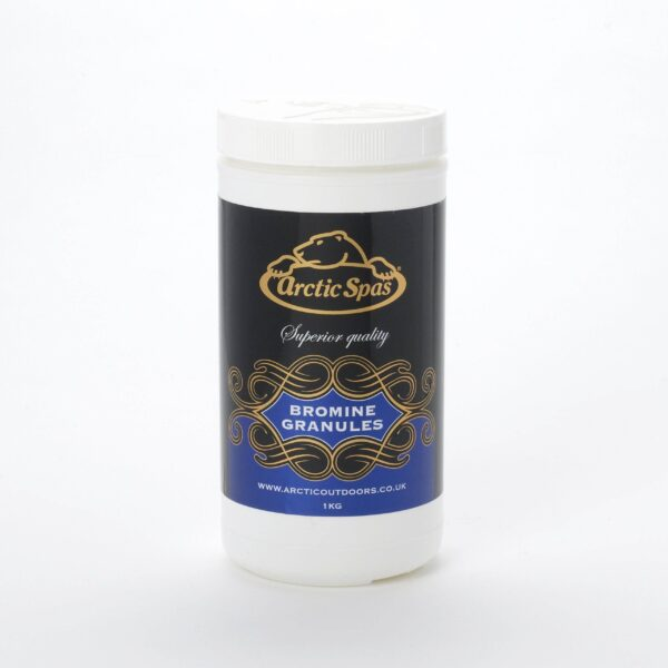 Arctic Bromine Granules 1kg - These bromine granules are ideal for daily dosing of your spa, to produce active bromine which kills bacteria and other potentially harmful organisms. They are rapid dissolving and have minimal impact on pH.