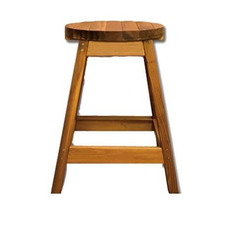 Cedar Bar Stool -