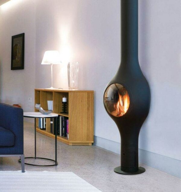 Boafocus Mural - Aside from this anecdote, the Boafocus mural model combines a svelte yet elegantly curvy silhouette with an efficient multi-functional gas fire.