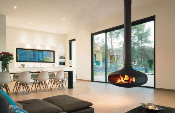 Domofocus - The younger sibling of the Gyrofocus, the Domofocus is smaller but has a noticeably larger hearth opening. With its generous smile, it makes a traditional or contemporary space more welcoming.