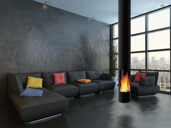 Slimfocus Suspended - The Slimfocusis the sleek result of a quest for aesthetic fluidity, minimum volume and excellent heat performance. A revolution in contemporary fireplaces, the Slimfocus is an assertive presence, a periscope of fire that synthesises a whole philosophy.  The Slimfocus is on live display in our Cowbridge Showroom.